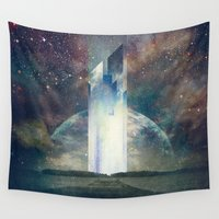 the fault Wall Tapestries featuring It´s your fault by HappyMelvin