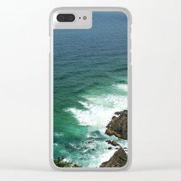 Byron Bay Sea Clear iPhone Case