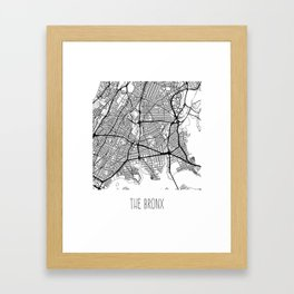 The Bronx Framed Art Print