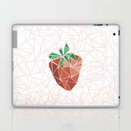 Strawberry geometry Laptop & iPad Skin