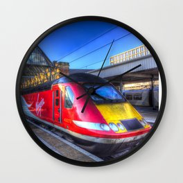 Virgin Train Kings Cross Station Wall Clock