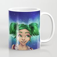 gnome Mugs featuring Cheeky gnome by Frenone