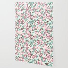 Fantasy pattern. Colour #1. Wallpaper