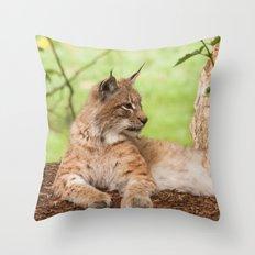 Lynx Lynx Throw Pillow