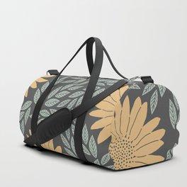 Autumn Flowers Duffle Bag