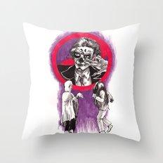 Ghost Dancing Throw Pillow