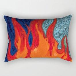 Evolution of a Spark Rectangular Pillow