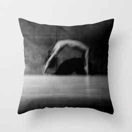 male nude study Throw Pillow