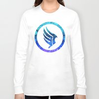mass effect Long Sleeve T-shirts featuring Mass Effect Paragon by foreverwars
