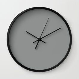 Pantone 17-4402 Neutral Gray Wall Clock