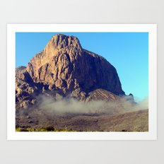 Big Bend National Park Art Print