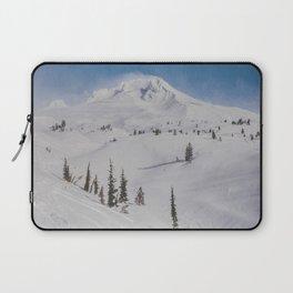 Snowy Mount Hood Laptop Sleeve