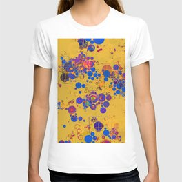 Vibrant Multi Color Abstract Design T-shirt