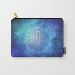 Deep Space Sacred Geomery Carry-All Pouch