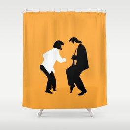 Pulp Fiction Dance 01 Shower Curtain