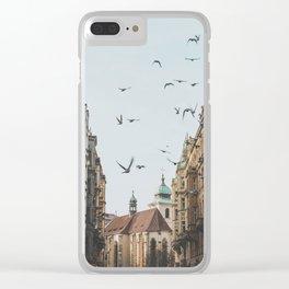 Prague, Czechia VI Clear iPhone Case