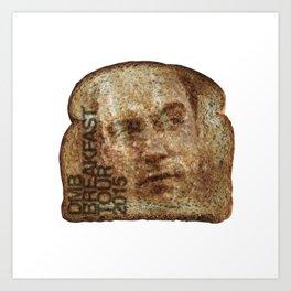 dave toast Art Print