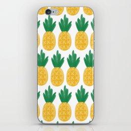 Pineapple Dreamin' iPhone Skin