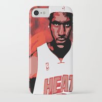 lebron iPhone & iPod Cases featuring Lebron James: #4 Hall of Fame Series by Sifa Blackmon