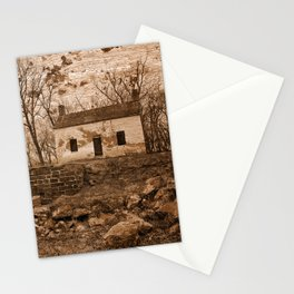 Rustic Lockhouse Mural Stationery Cards