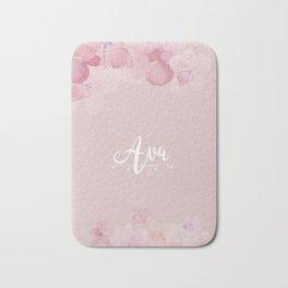 Name Ava Bath Mat