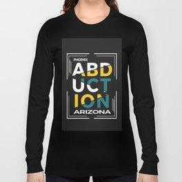 ABDUCTION | UFO Art Long Sleeve T-shirt