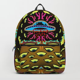 Welcome the invader Backpack