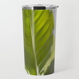 Hojas verdes (1) (green leafs) Travel Mug