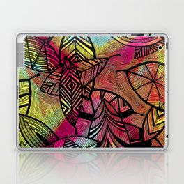 Crazy Leaves  Laptop & iPad Skin
