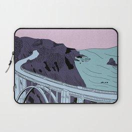 Bixby Creek Bridge Laptop Sleeve