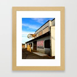 Local Pawn Shop Framed Art Print