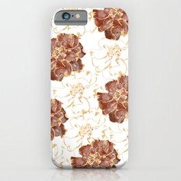 Marigold Pattern iPhone Case