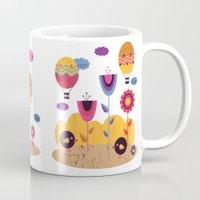 spring Mugs featuring Spring by Kakel