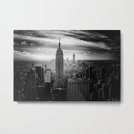 Empire State Building, New York City Metal Print