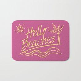 Hello Beaches Bath Mat