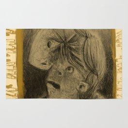 Winter's Hymn Part: 107, Digital Drawing Art Print Rug