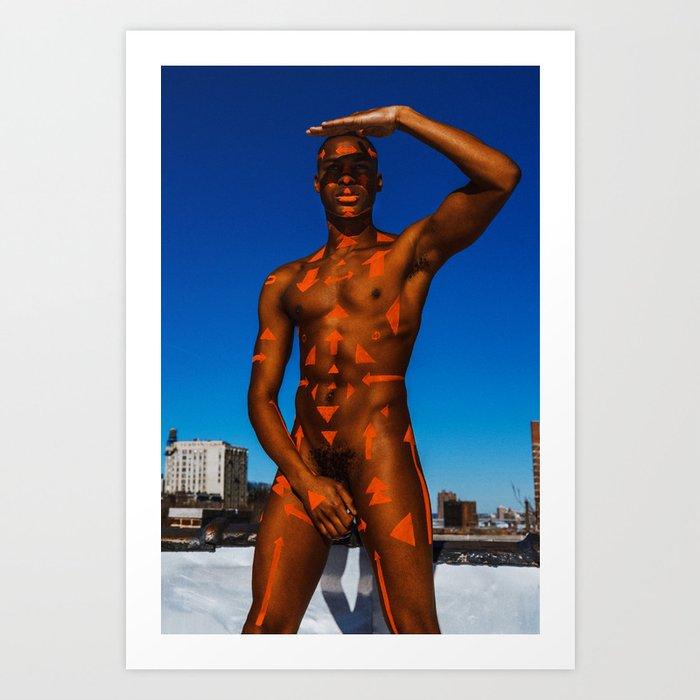 Tribe - Nick Art Print