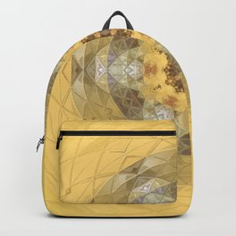 Golden Octavian Mandala Backpack