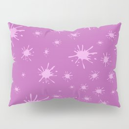 pink spots on pink background Pillow Sham