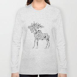 Many shapes of the Moose Long Sleeve T-shirt