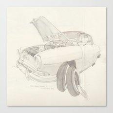 Simca Aronde  Canvas Print