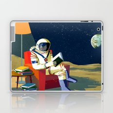 Moon Library Laptop & iPad Skin