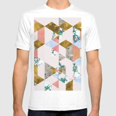 Geometry of Love #society6 #decor #buyart Mens Fitted Tee White MEDIUM