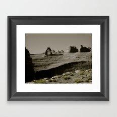 Delicate Arch Framed Art Print