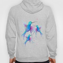 Hummingbird watercolor  Hoody