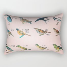 Bird poster Rectangular Pillow