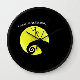 A Longing Wall Clock