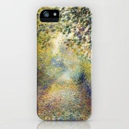 In the Woods- Renoir iPhone Case