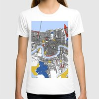 new orleans T-shirts featuring New orleans Mondrian by Mondrian Maps