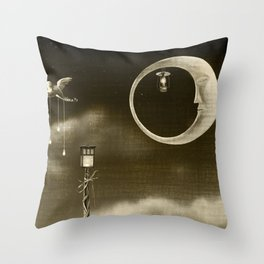 Dream Drifters III Throw Pillow
